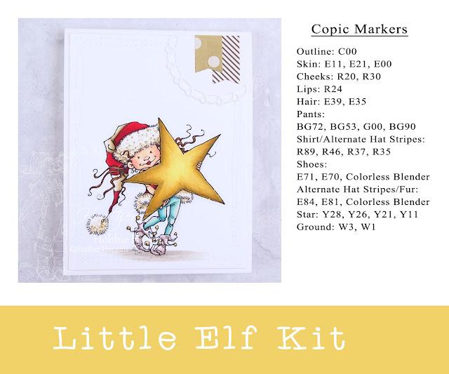 Heather's Hobbie Haven - Little Elf Kit Card