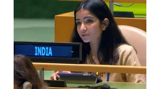 Sneha Dubey's Speech against Pakistan In UN