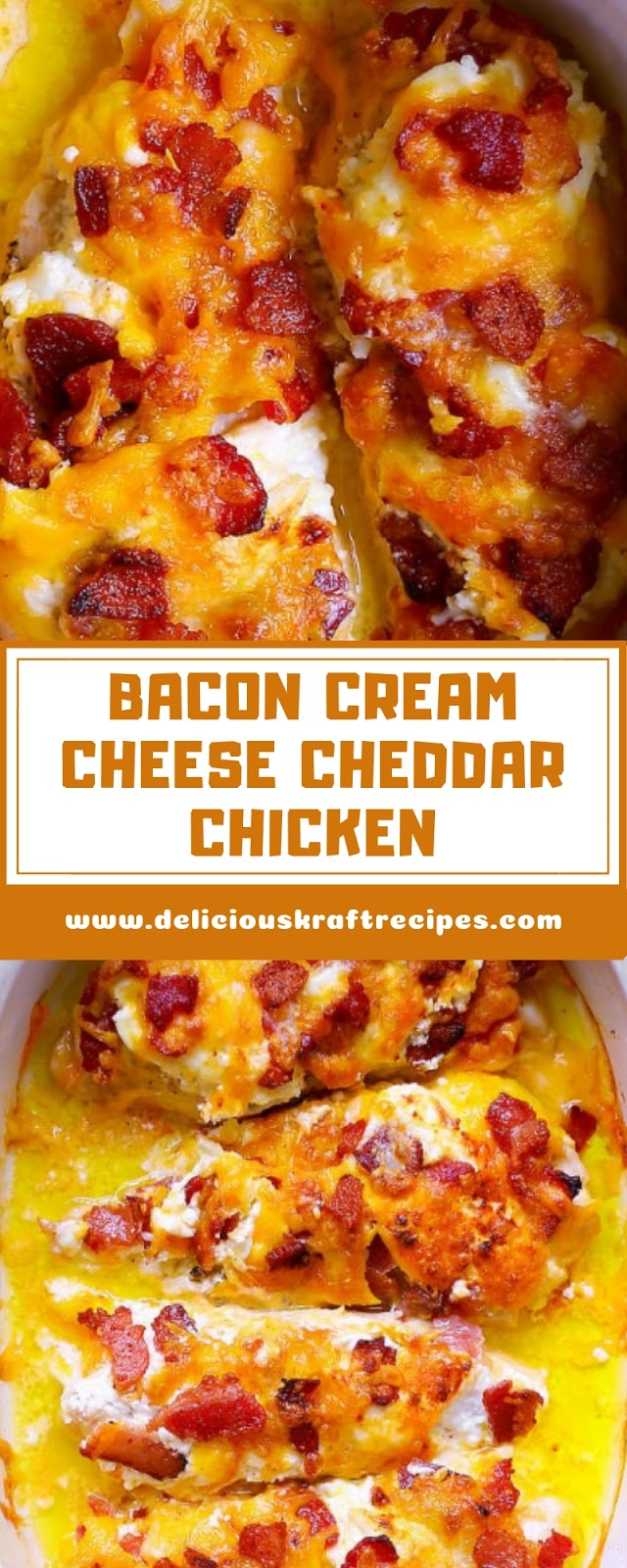 BACON CREAM CHEESE CHEDDAR CHICKEN