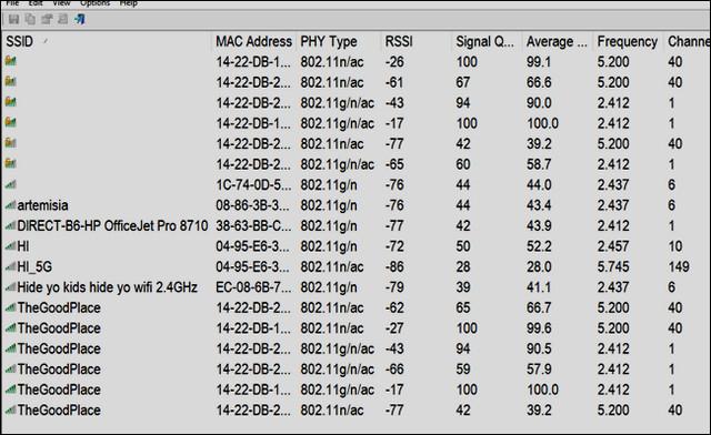 تطبيق للتحقق من قوة إشارة الواي فاي للاندرويد والايفون وويندوز 10