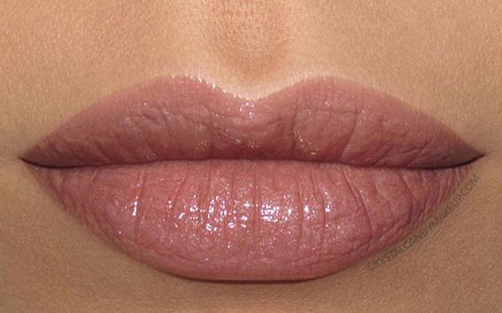 Buxom Shimmer Shock Lipstick Swatch Pyro