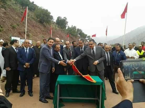 إقليم تارودانت:و تستمر معاناة سكان جماعتي الدير و بيكودين مع مشروع الطريق الإقليمية 1705