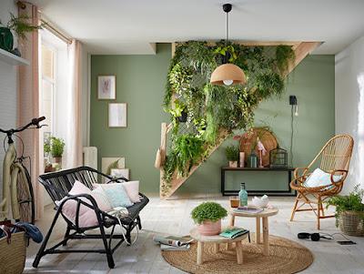 Las plantas combinan con todos los estilos decorativos