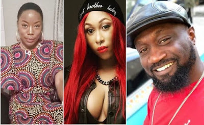 cynthia morgan jude okoye and joy tongo in record label contract dispute