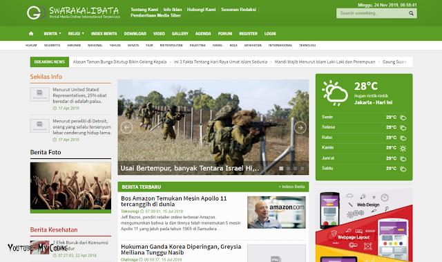 Source Code Website dan CMS Portal Informasi dan Berita