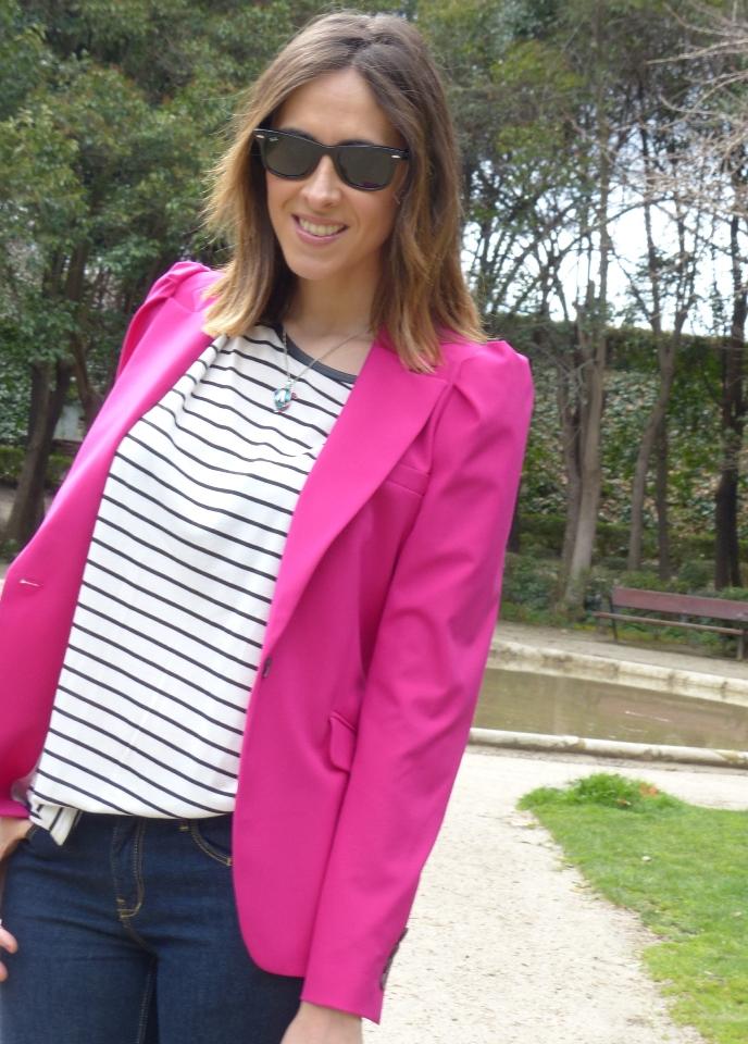 Pink Blazer & Giveaway