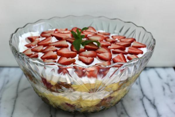 Strawberry Punch Bowl Cake Mix Recipe