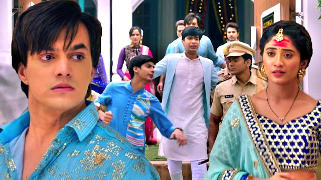 Future Story :  Naira drags Goenkas in court to get Luv Kush hanged for dirty crimes in YRKKH