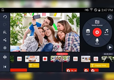 كين من افضل تطبيقات عمل المونتاج وتحرير الفيديوهات