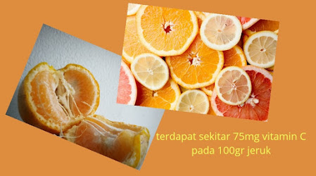 jeruk buah yg mengandung vitamin C