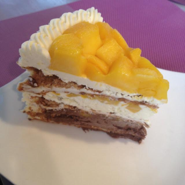Mango Heaven Cake at Pink Heaven Bistro