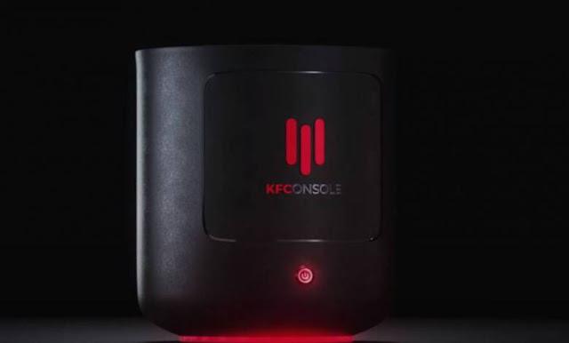 KFConsole : une  console de jeu vidéo signée KFC !