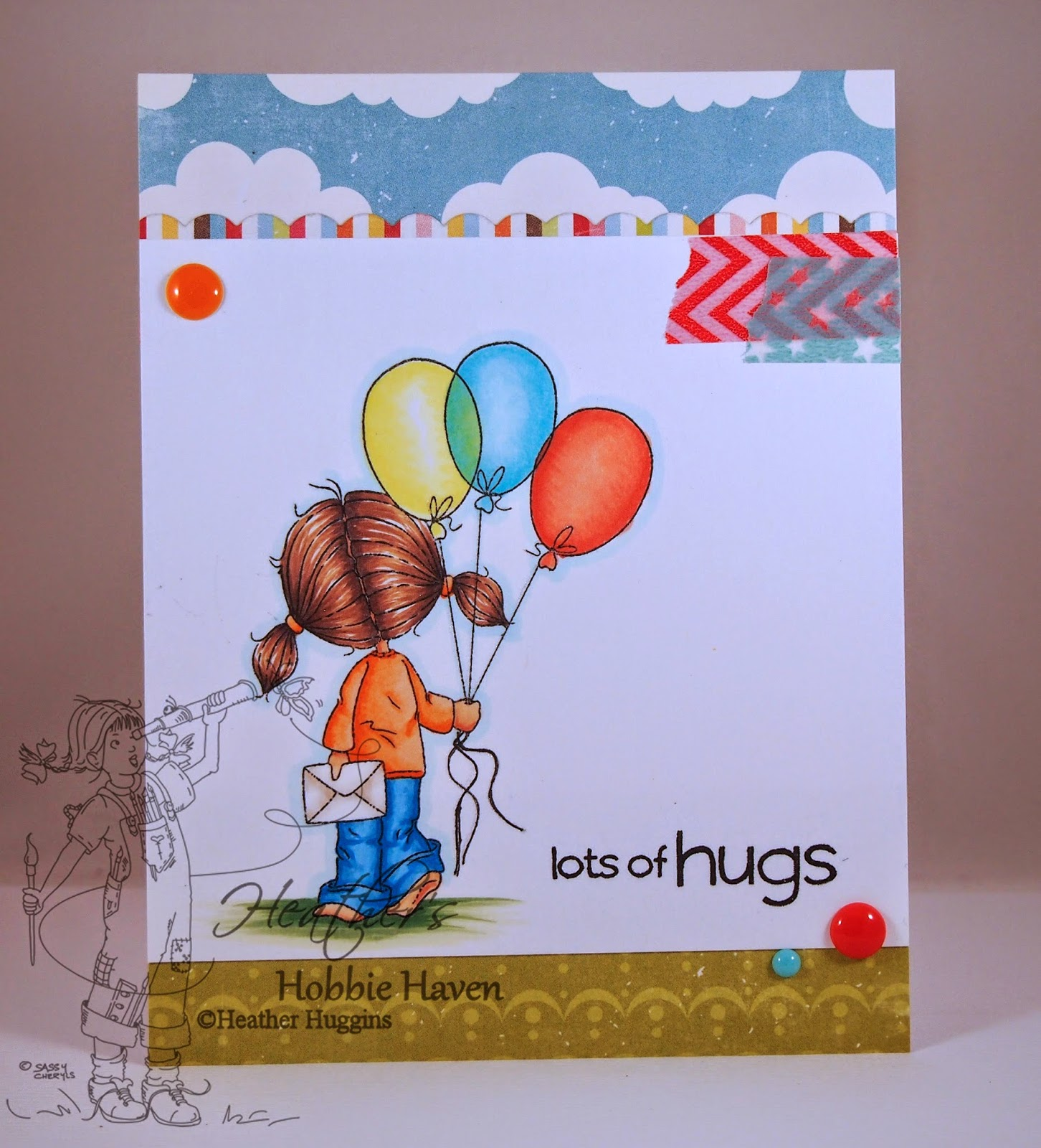Heather's Hobbie Haven - Cake & Wishes Just for Fun Saturday Card