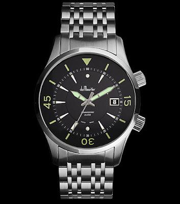 du Maurier Commodore swiss made watch