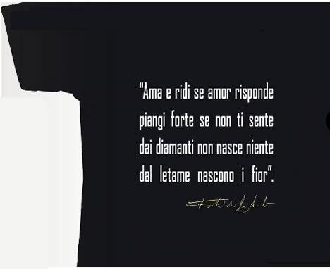 Teatro Necessario Genova Bollettino Le T Shirt Cantano De Andre