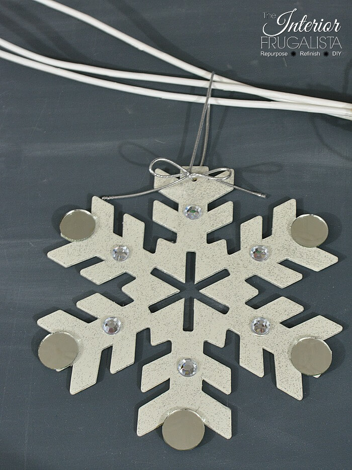 Large Kids Snowflake Craft Idea Three