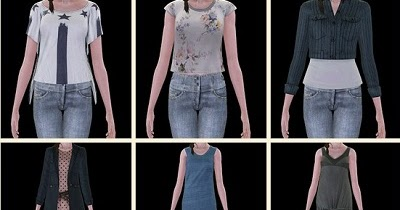 My Sims 3 Blog: DIESEL Clothes Base Game Compatible Part 2