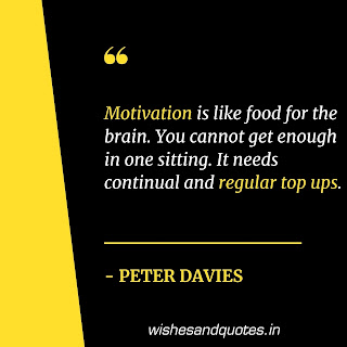 motivational quotes for employees peter davies