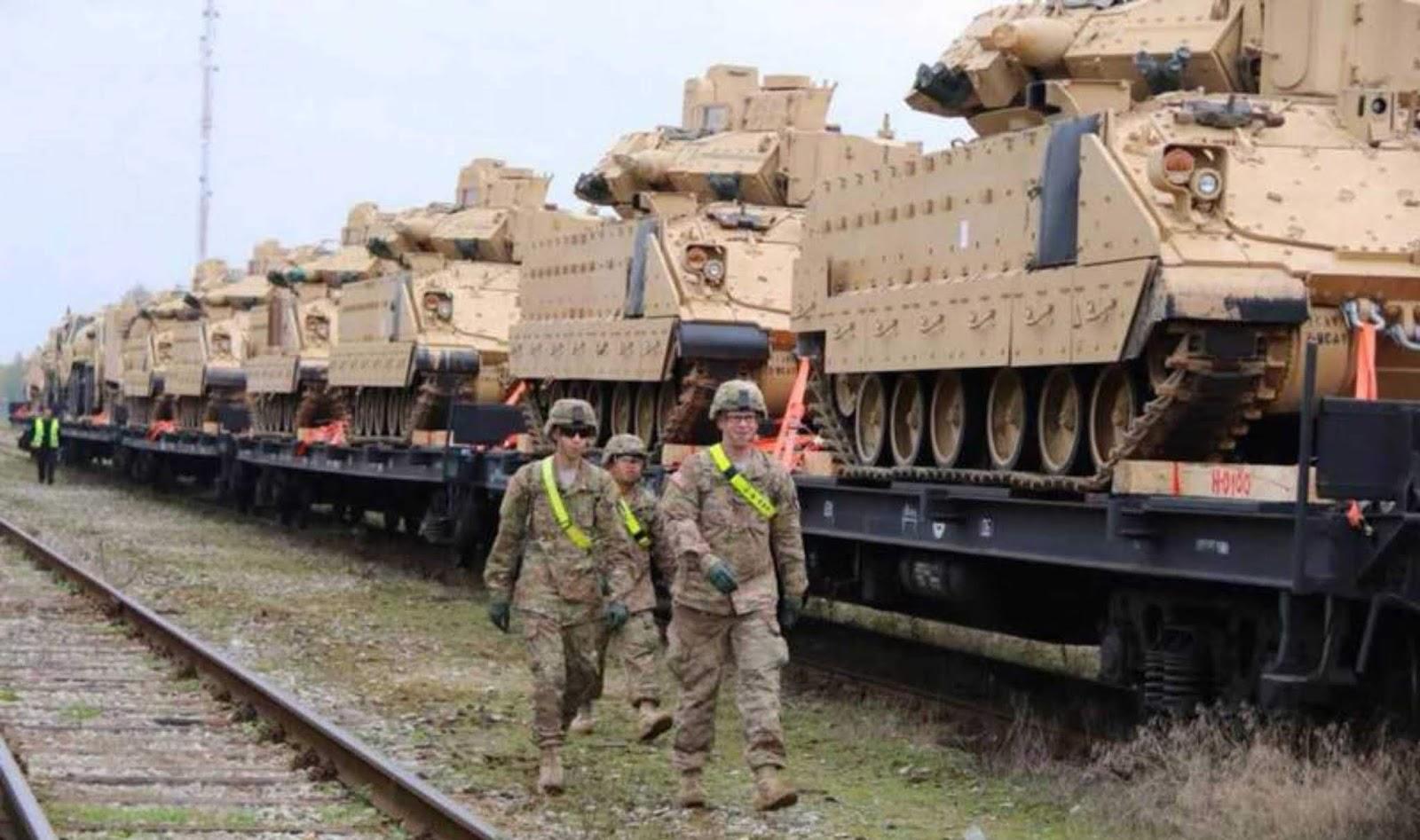 Media Polandia mengumumkan AS mmenolak untuk penempatan pangkalan militer permanen