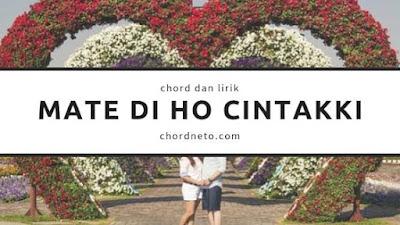 Chord Mate di Ho Cintakki