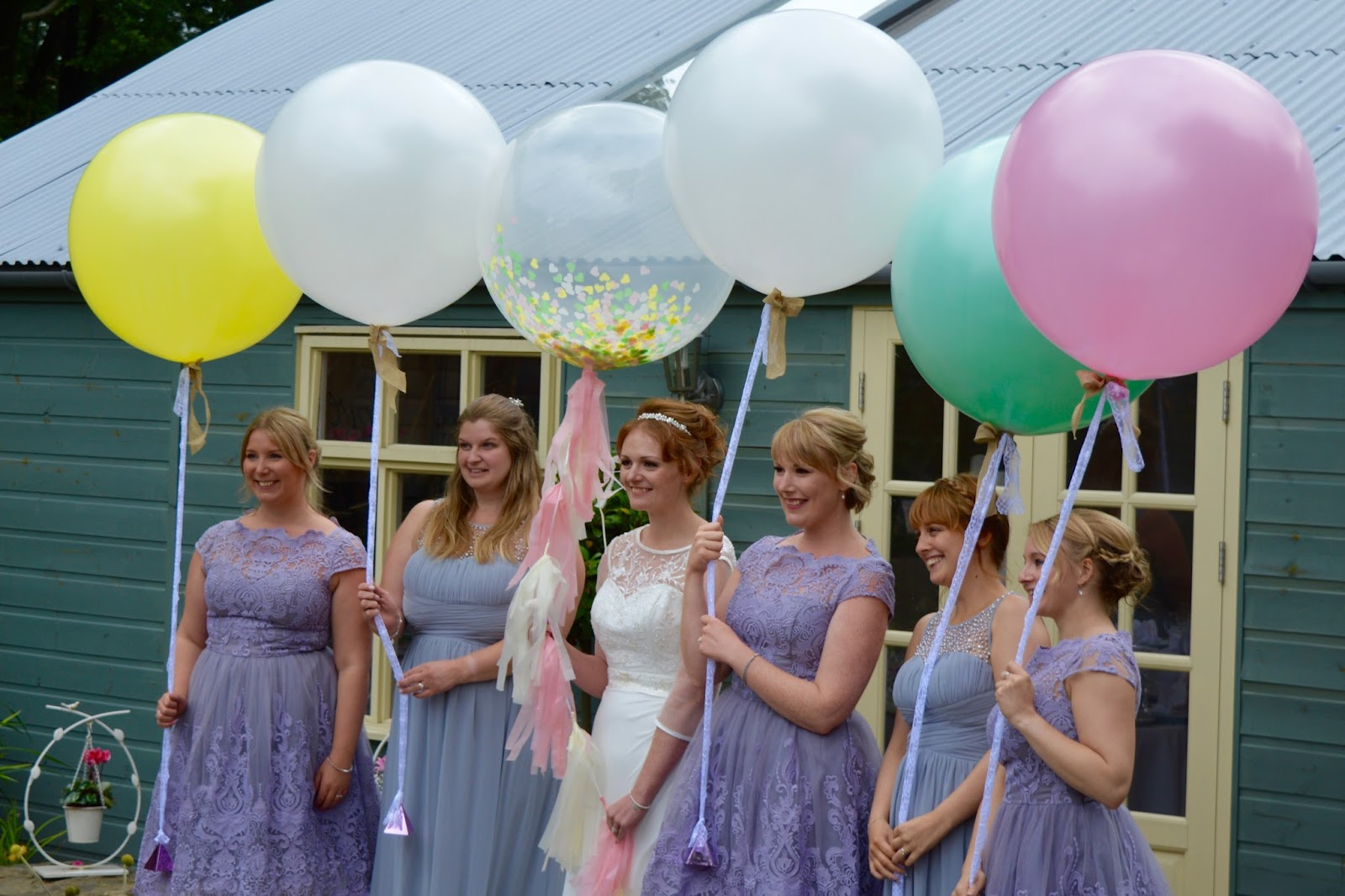 Weddings at The Parlour at Blagdon in Northumberland - bridesmaids
