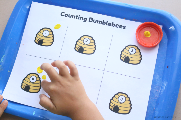 counting fingerprint bumblebees