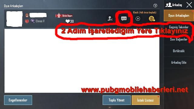 PUBG Mobile'de Oyuncu Engelleme Resimli Anlatım