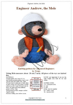 knitted mole