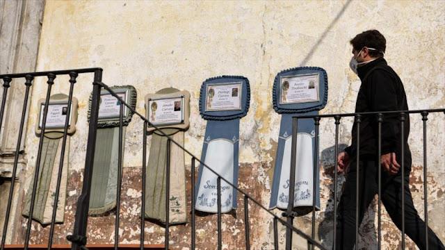 Italia registra 793 muertos sólo en un día por coronavirus