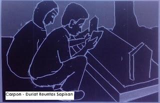 Carpon Sunda Duriat Reuntas Sapisan