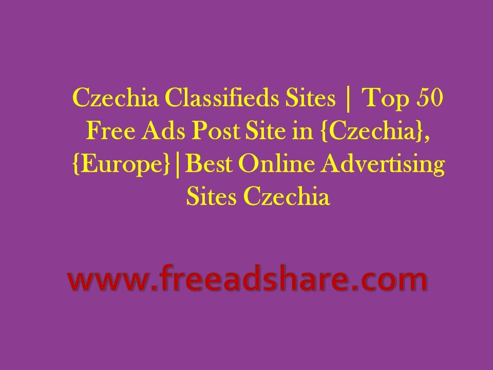 50+ Best Czech Republic Classifieds Sites | Free Ads Posting