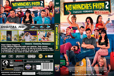 CARATULA NO MANCHES FRIDA 2 - 2019 [COVER DVD]