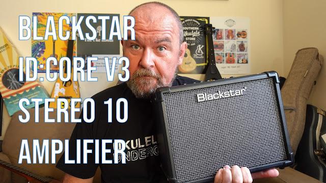 Blackstar ID:Core V3 Stereo 10 Amplifier with ukulele