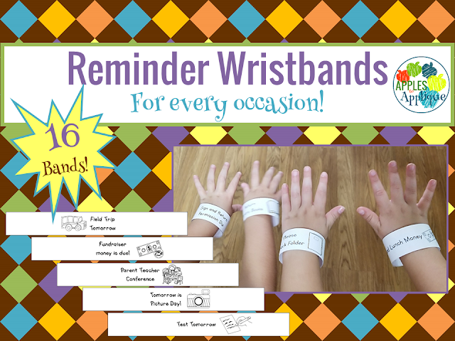 Reminder Wristbands for Every Occasion | Apples to Applique