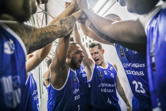Minas garantiu vaga na segunda fase da Liga Sulamericana [Divulgação/FIBA Américas]