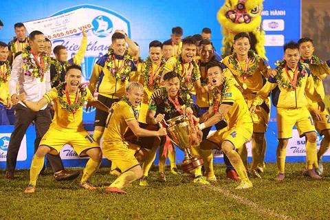 CLB bóng đá Sông Lam Nghệ An vô địch cúp quốc gia 2017