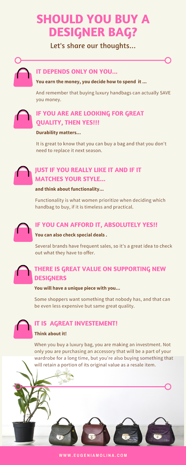 should you buy a designer bag