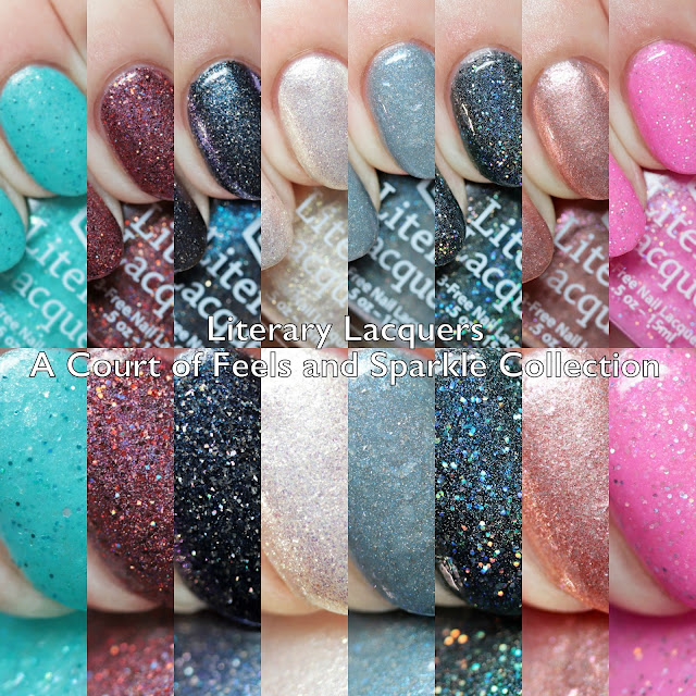 Literary Lacquers A Court of Feels and Sparkle Collection