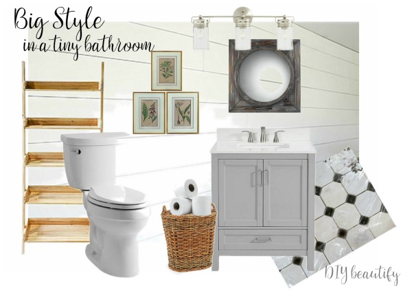 bathroom mood board