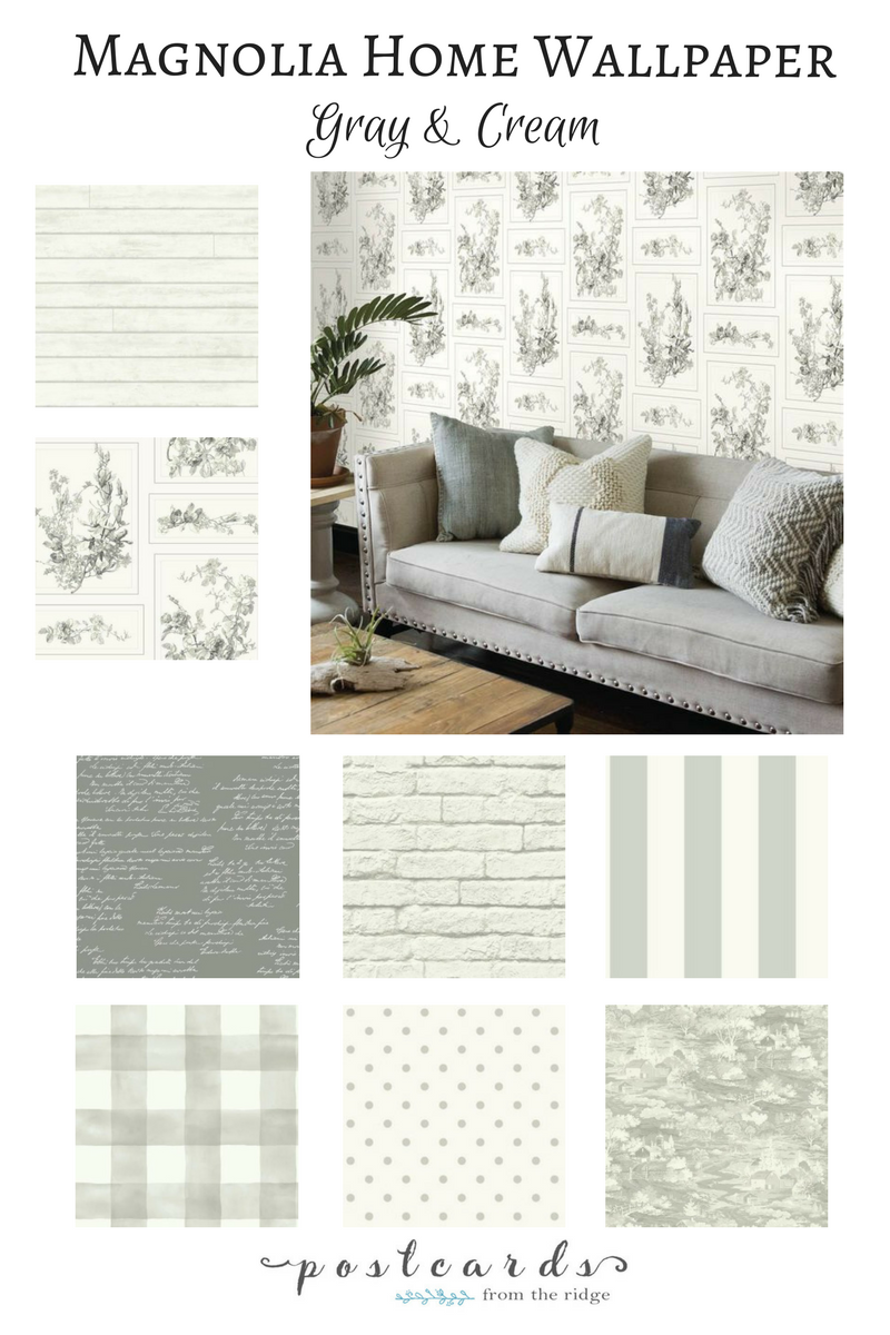 farmhouse decor magnolia home joanna gaines wallpaper