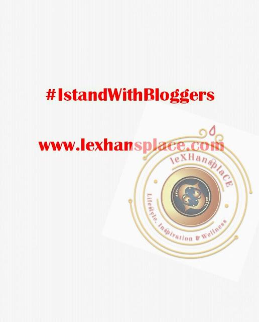 #istandwithbloggers