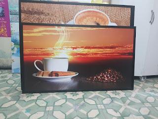 In tranh Canvas coffe