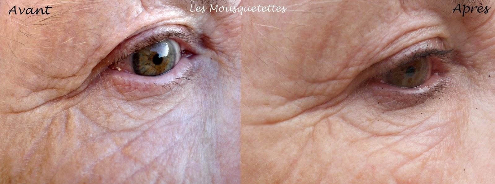 Résultats Baume Rajeunissant Contour des Yeux Alchimie Forever - Les Mousquetettes©
