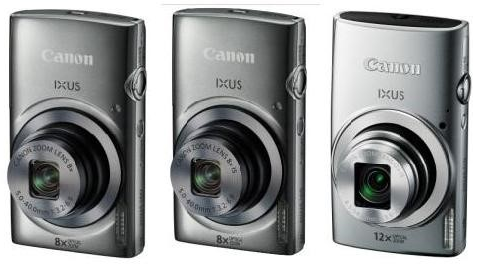 Canon IXUS 160, IXUS 165 and IXUS 170