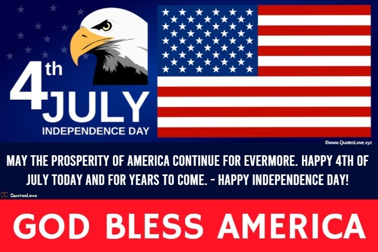 USA Happy Independence Day Wishes, Greetings, Messages, Images & Poster