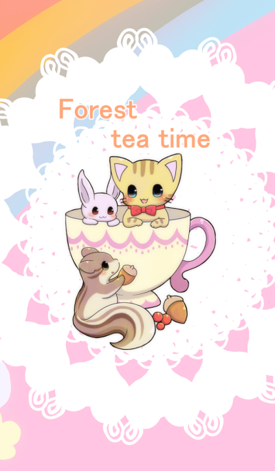 Forest tea time