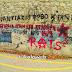Στα Τρίκαλα στα δύο στενά γράφει ο Rats συνθήματα...