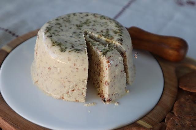 Leche de almendras + queso receta keto vegana