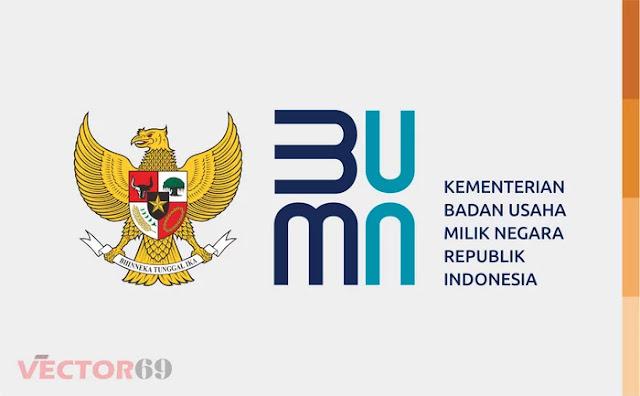 Logo Kementerian BUMN Republik Indonesia (Baru 2020) - Download Vector File AI (Adobe Illustrator)