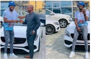 Singer Victor AD Shows Off His Brand New Mercedes Benz Whip [Photos]